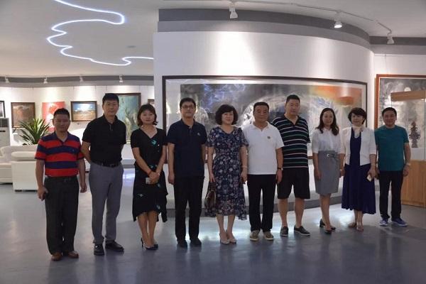 徐伟赴天津、北京调研走访会员企业和商会