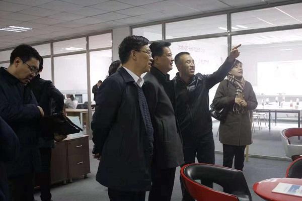 市委领导莅临互联网商会调研指导