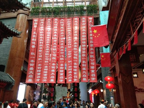 中国安全食品一条街启动仪式举行